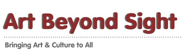 Logo Art Beyond Sight, Bring Art and Culture to All