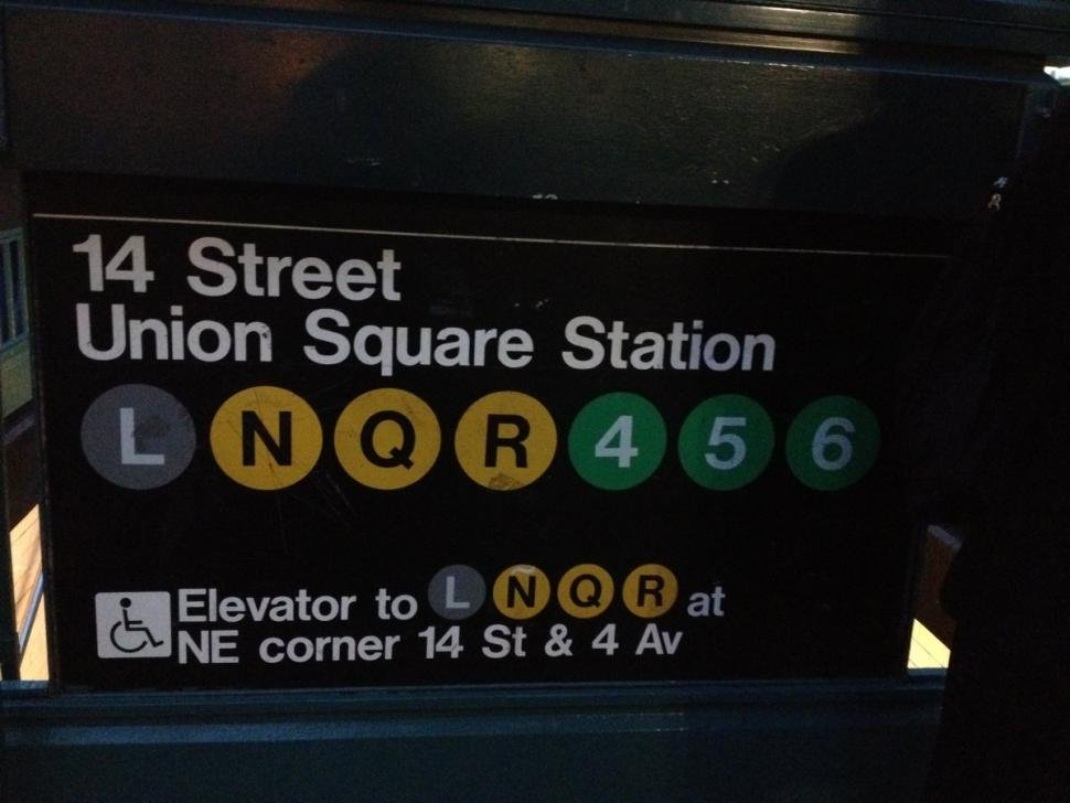 14 Street Union Square Station entrance